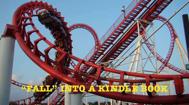 """Fall"" into a kindle book & come to Six Flags Great Adventure!"