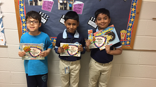 Bergen Elementary – Accelerated Reader of the Month