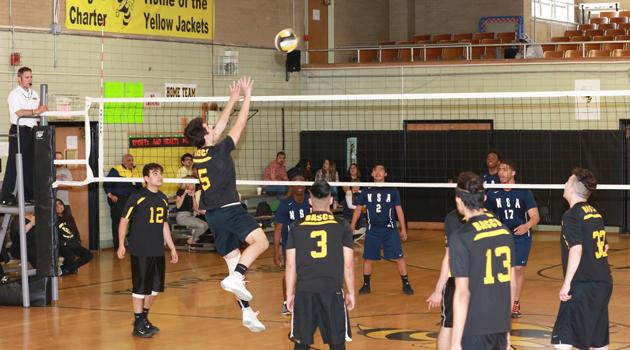 BASCS Volleyball Boys Varsity Game