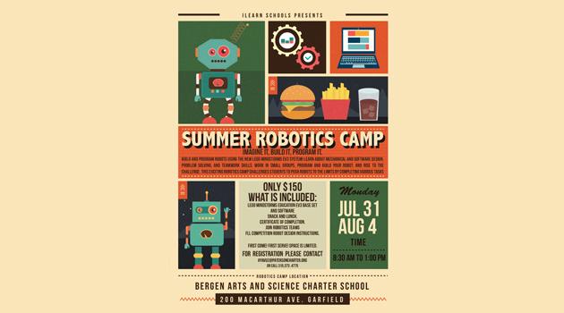 Register for Summer Robotics Camp