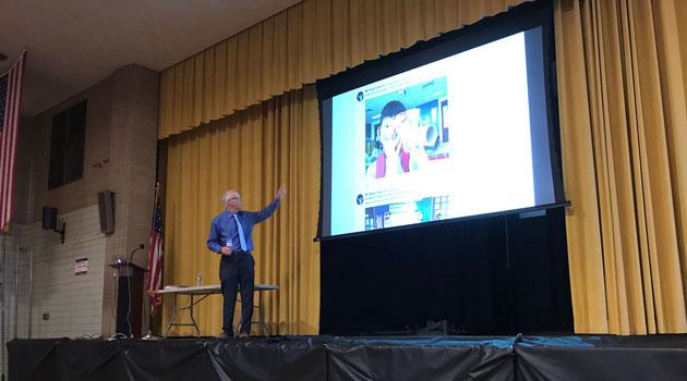 iLearn Schools had spectacular presenters today, Ms.Chelonnda Seroyer & Mr.Alan November!