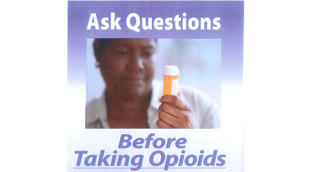 Ask Questions Before Taking Opioids