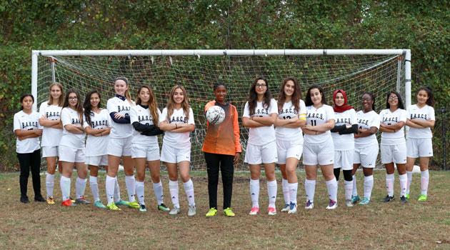 Congratulations to the Bergen Charter High School Girls Varsity Soccer Team