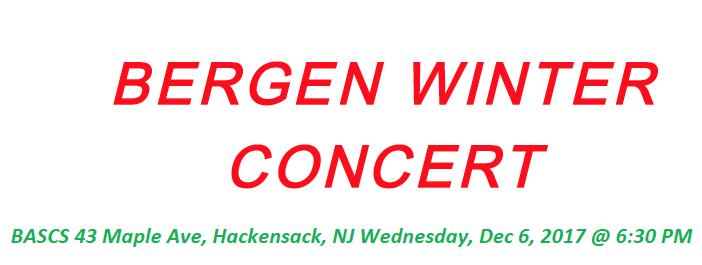Bergen High Winter Concert