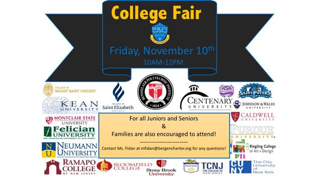 3rd Annual College Fair at BASCS-High