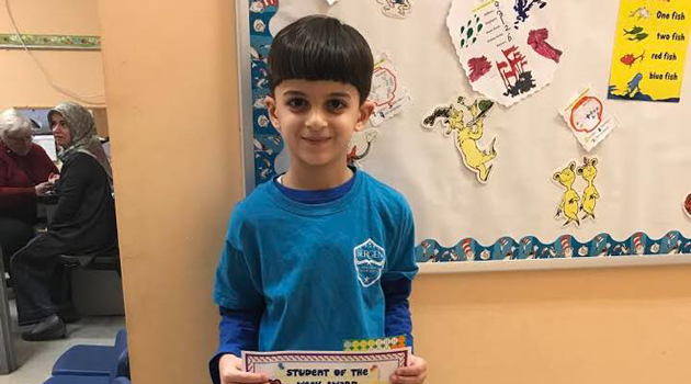 Bergen Elementary Athlete of the Week Hamza Alaeddin!