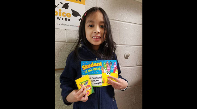 Congratulations to Bergen Elementary's Artist of the Week, Liane Manalac from KD!