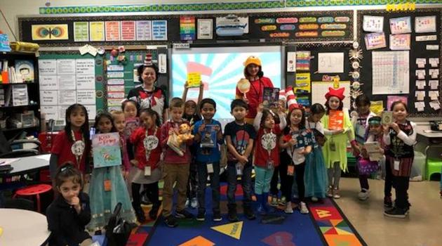 Bergen Elementary celebrated Dr. Seuss' Birthday