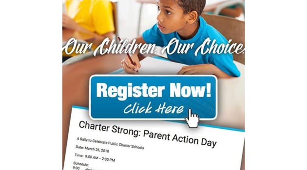 CHARTER STRONG: Parent Action Day, March 26th