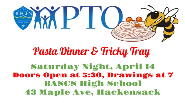 Pasta Dinner & Tricky Tray