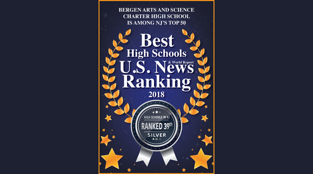 Congratulations to Bergen Arts and Science Charter High School!