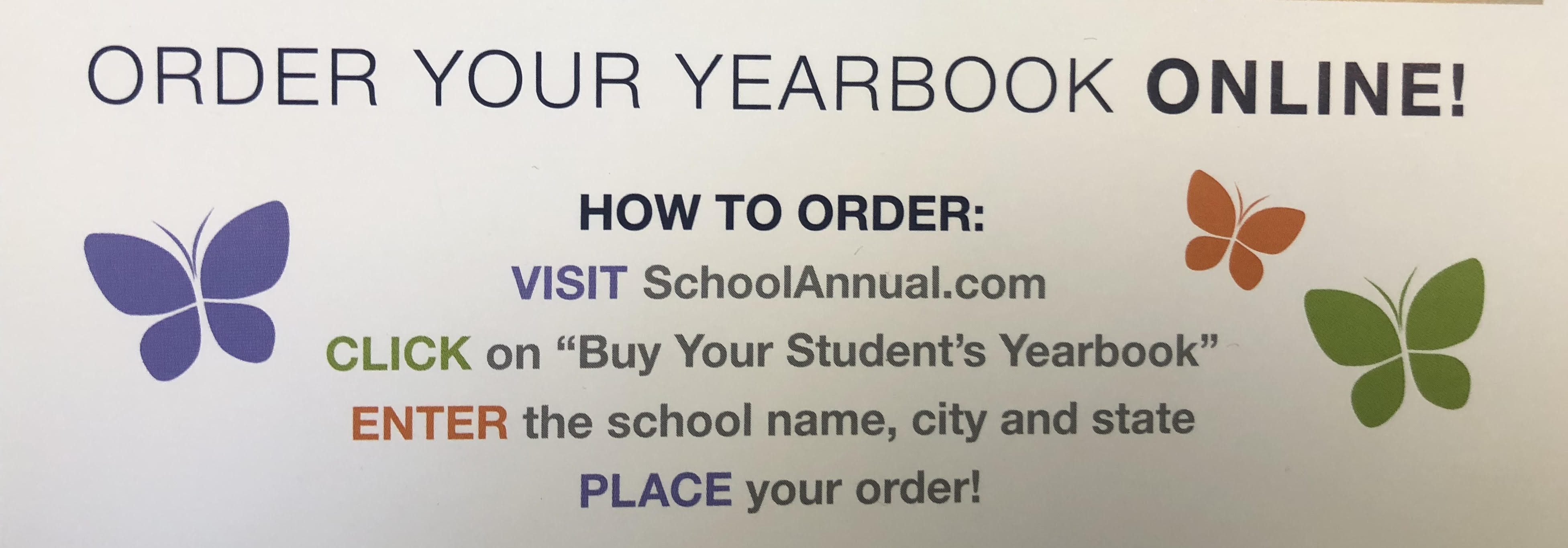 BASCS High School Yearbook is on Sale!
