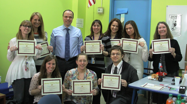 ELA Department recognized at BASCS
