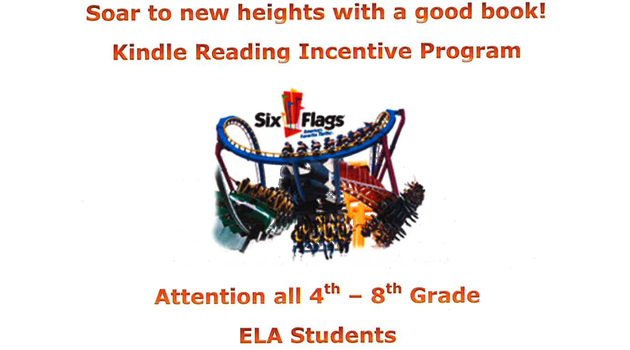 Kindle Reading Incentive Helps Students Soar to New Heights