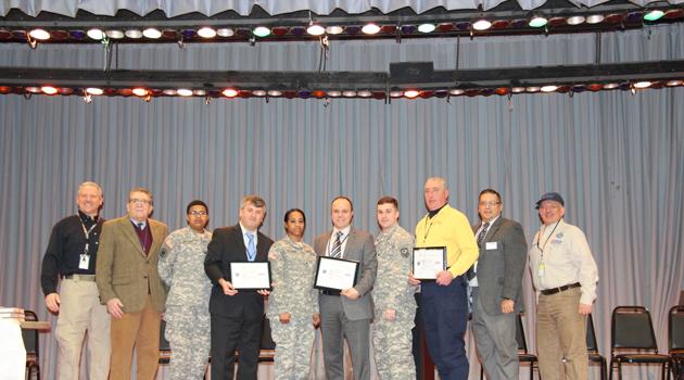 BASCS Staff awarded ESGR's Patriot Award