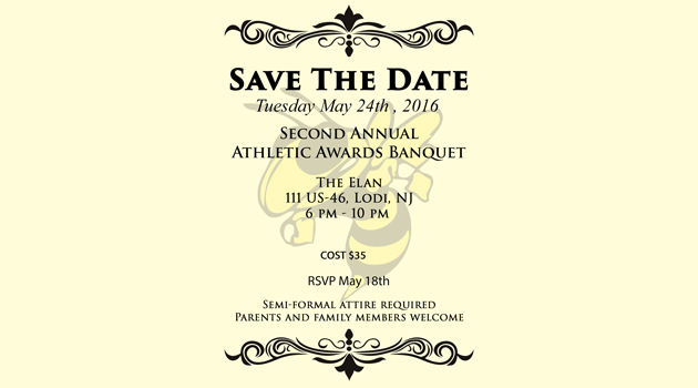 Save the Date…Athletic Awards Banquet