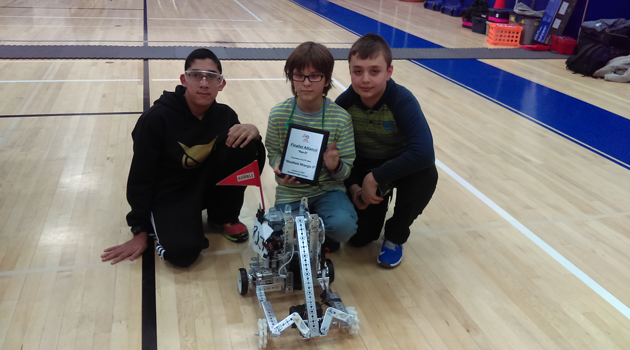 Way to go BASCS MS Robotics