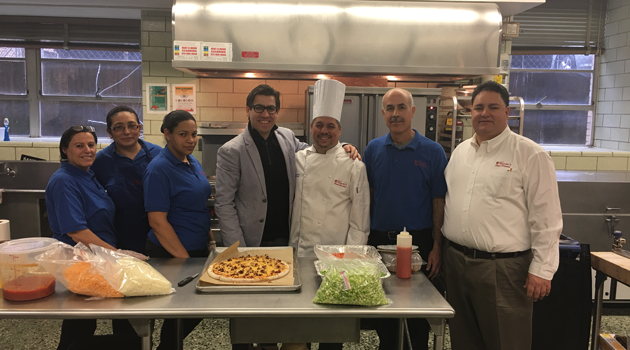 Maschio's Chef at Bergen High School!