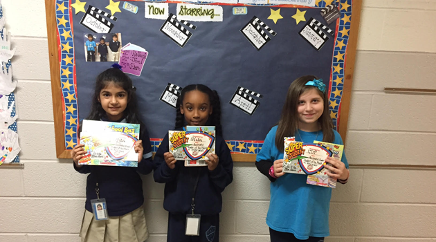 Accelerated Reader Students of the Month