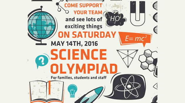 Science Olympiad this Saturday!