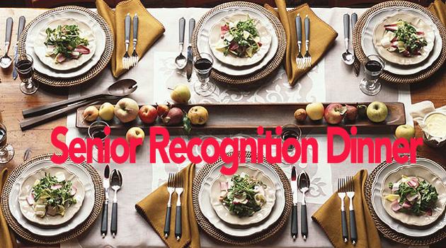 Senior Dinner Information