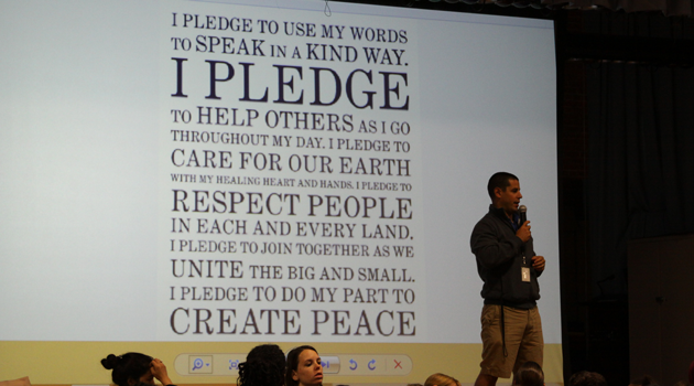 Anti-Bullying Pledge at BASCS Middle
