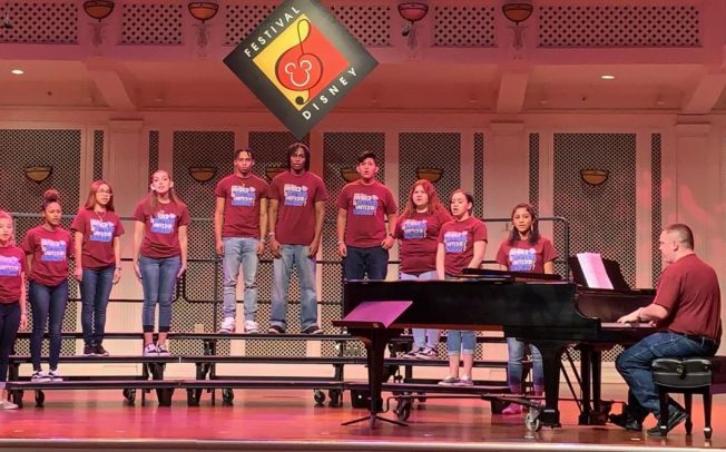 Congratulations to the Passaic Charter High School Choir For Competing At the Festival Disney In Walt Disney World