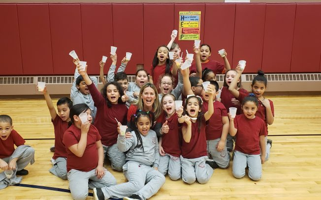 The Passaic Clifton Panthers Celebrated March's National Nutrition and Wellness Month