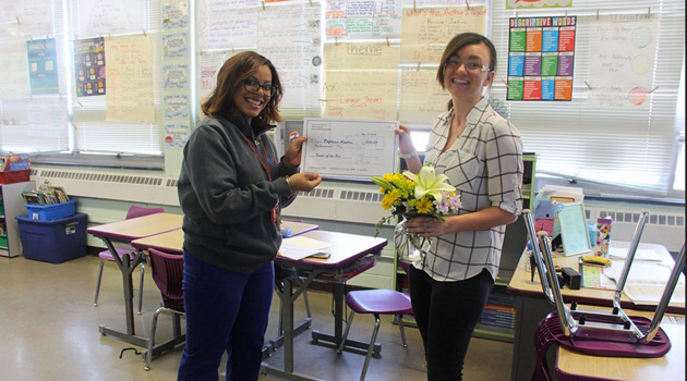 Congratulations Mrs. Hondros!