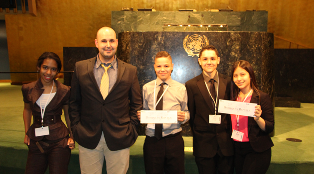 PASCS HS participates in Global Classrooms International Model UN Conference