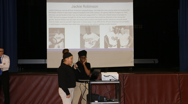 Passaic Middle High celebrated Black History Month!