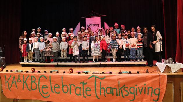 Clifton-Kindergarten Celebrated Thanksgiving