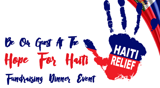 Be Our Guest: Hope for Haiti (April 13th)