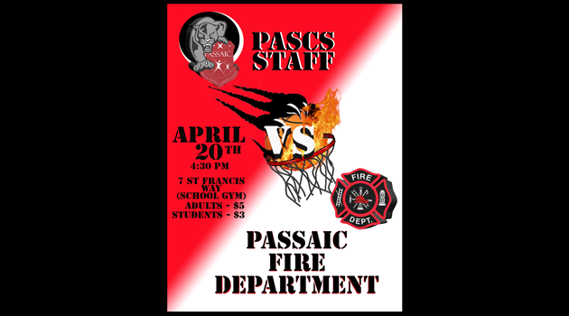 PASCS Staff vs Passaic Fire Department