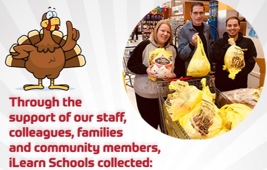 iLearn Schools Feast of Giving & Thanksgiving Celebration Dinners
