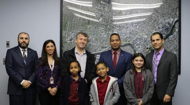PASCS Administrators Visited Passaic Mayor Hector Lora