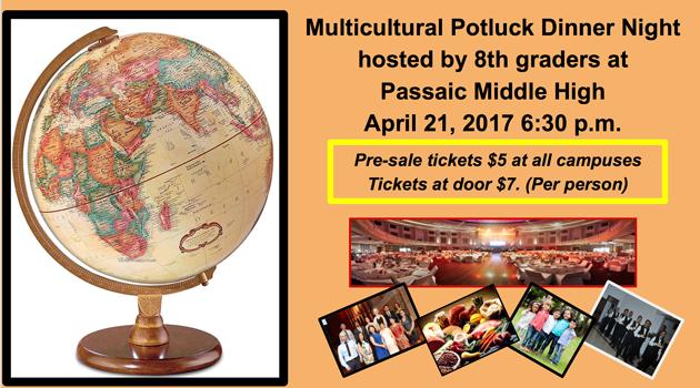 Multicultural Potluck Dinner Night