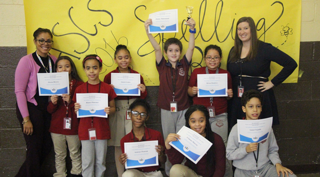 Congratulations to all of our hardworking spellers at Passaic Intermediate!