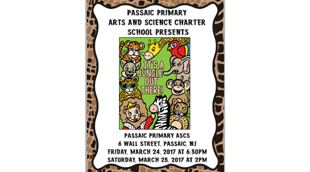 "PASCS Primary Presents ""It's a Jungle out There!"" March 24th & March 25th"