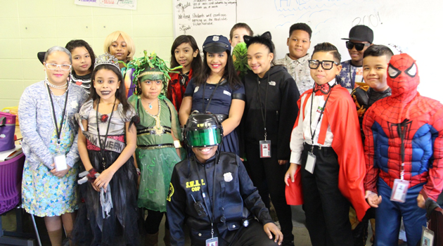 Passaic Intermediate Halloween Celebration
