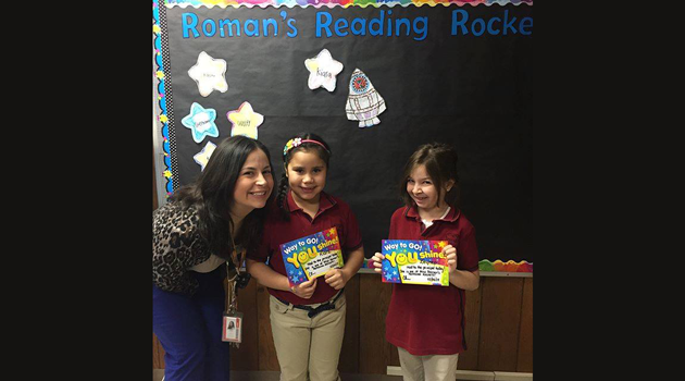 Happy Reading and congrats to these rockets!