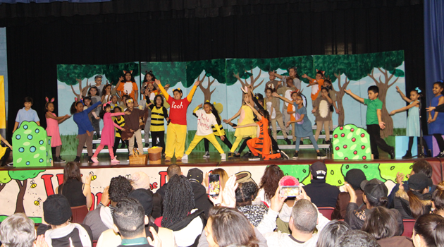 PASCS Elementary Winnie the Pooh Kids was a great success!