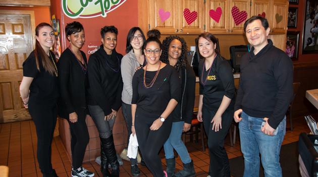 Applebee's Fundraiser for Aladdin