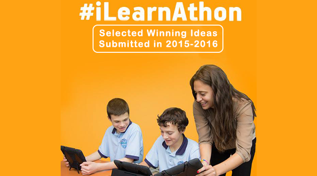 #iLearnAthon Selected Winning Ideas