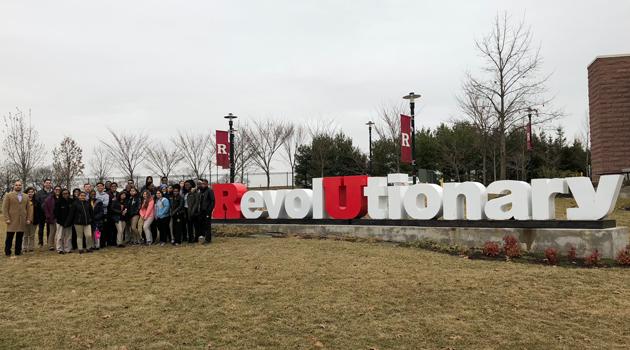 Rutgers University Campus Tour & Admission Session